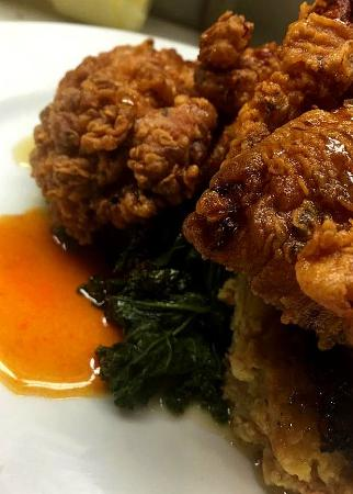 Buttermilk Brined Fried Chicken Picture Of Cellar Cat Albany