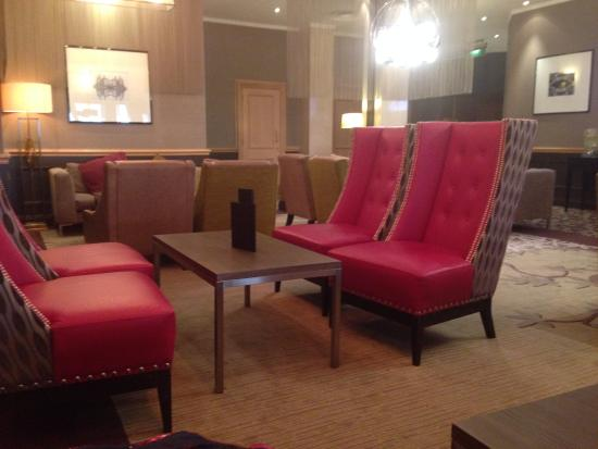 ‪‪Premier Inn Chester City Centre Hotel‬: The lounge area‬