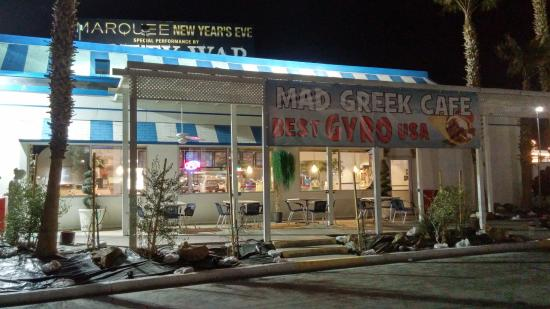 Primm, NV: Front view of Mad Greek