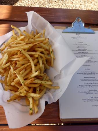 Forestville, CA: Truffle fries