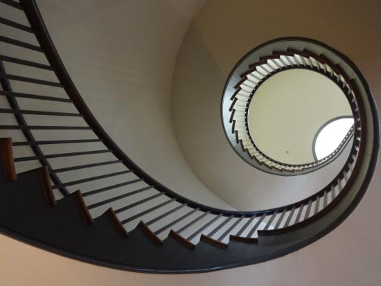 Shaker Village of Pleasant Hill: spiral staircase