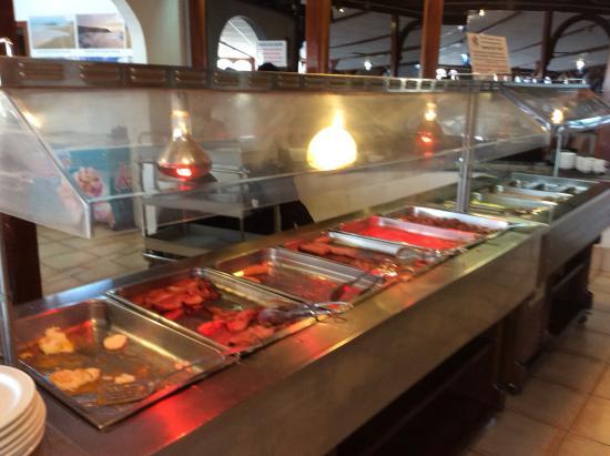 Castillo Beach: Food choice