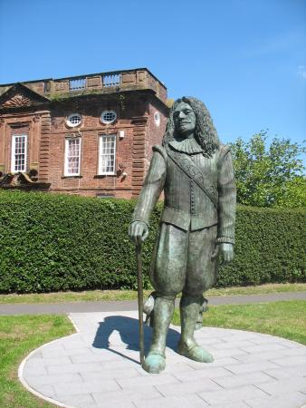 The Childe of Hale statue