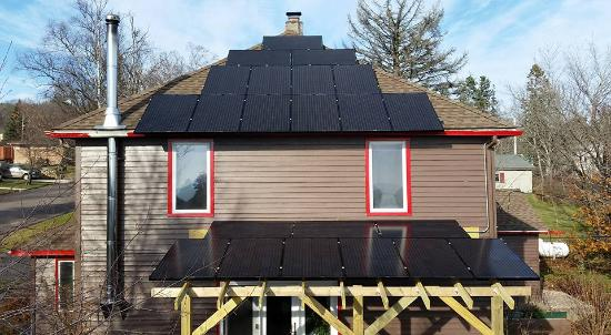Art House Bed + Breakfast: Art House is now Solar!
