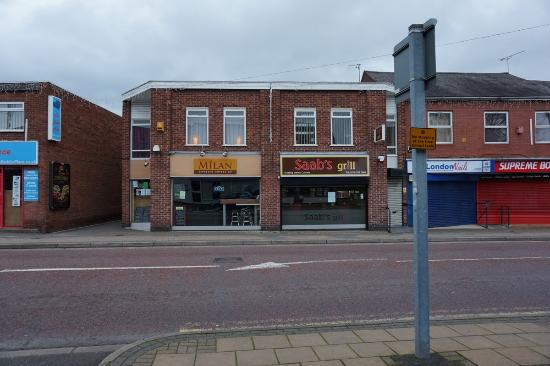 Wigston, UK: Saab's Grill, Wigston