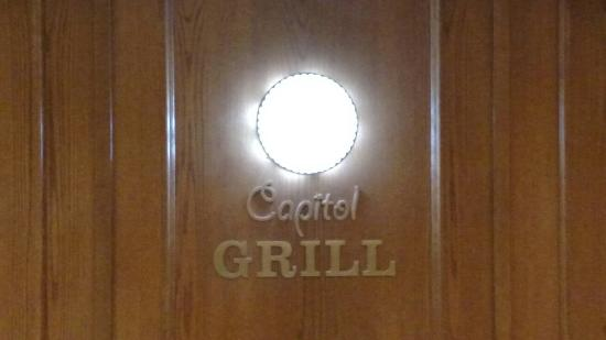 Capitol Grill inside the State Capitol