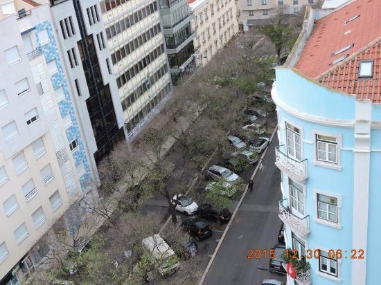 Rua vista do quarto bild fr n hotel real parque - Hotel parque real ...