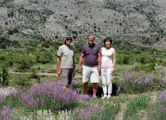 Flowers of Crete Day Trips: Tony with guests