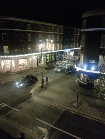 Lime Tree Hotel: Holiday Lights on Ebury Street