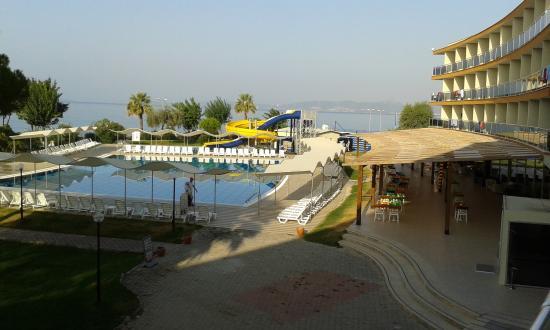 Gumuldur Resort Hotel: widok z okna