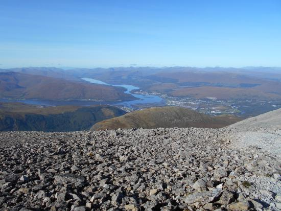 Ben Nevis: Wow, what a view of Fort William