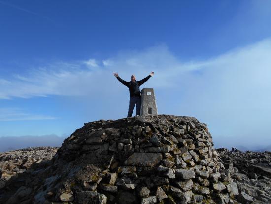 Ben Nevis: At the top !