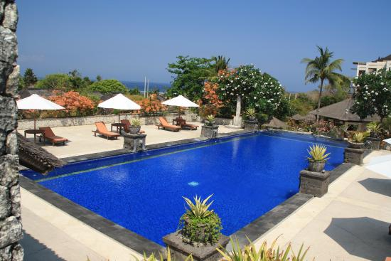 Sekar Nusa Villas: Der große Pool