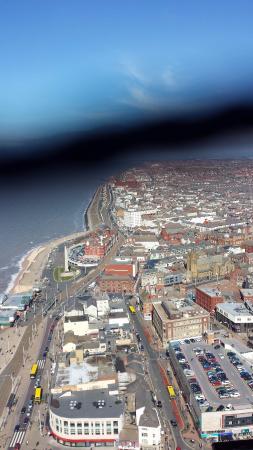 La torre y el circo de Blackpool: Great view.