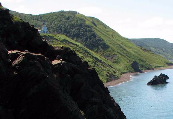 Lighthouse Zhonkier: вид маяка