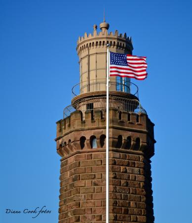 Highlands, NJ: Top of the tower you can climb