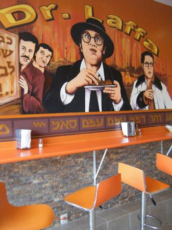 Photo of Fast Food Restaurant Dr. Laffa at 3027 Bathurst St, Toronto M6B 3B5, Canada