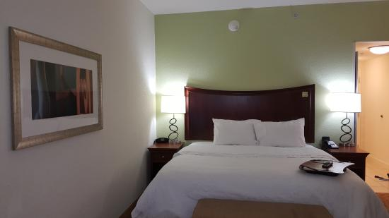 Hampton Inn Hickory: King bed
