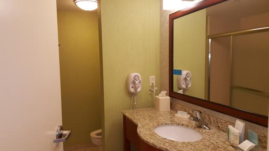 Hampton Inn Hickory: Bathroom