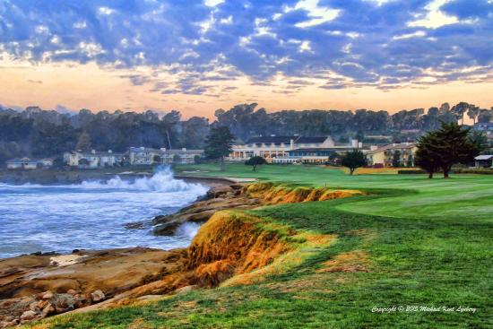 Gallery By The Sea Carmel Home Stretch Pebble Beach Trademark Used Under License Of