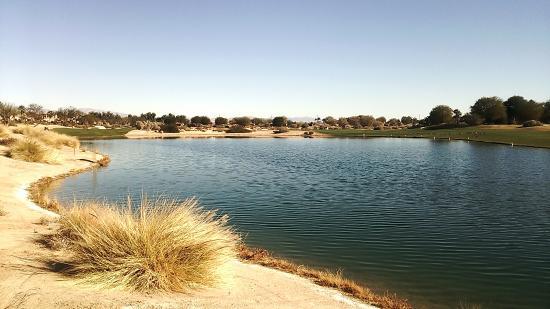 La Quinta-Norman Course: 池が絡む -Norman Course