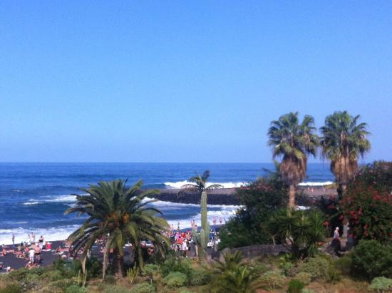 View after rain picture of playa jardin puerto de la - Playa jardin puerto de la cruz tenerife ...