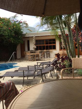 Hotel Buena Vista: La terrasse