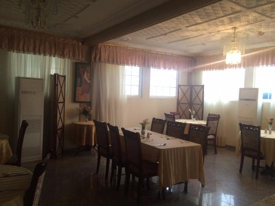 Charleston Hotel Ghana: Restaurant