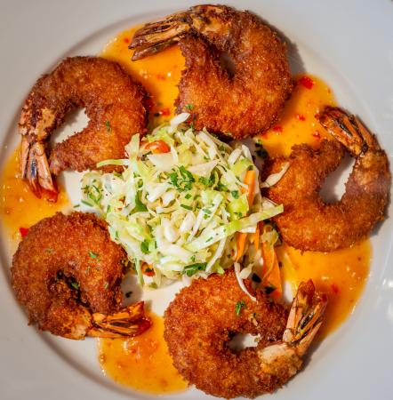 Romeoville, IL: Flaky Coconut Shrimp