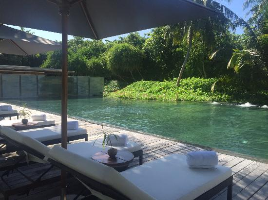 Park Hyatt Maldives Hadahaa: Spa Pool