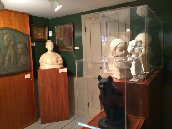Cyrus Dallin Art Museum: some exhibits