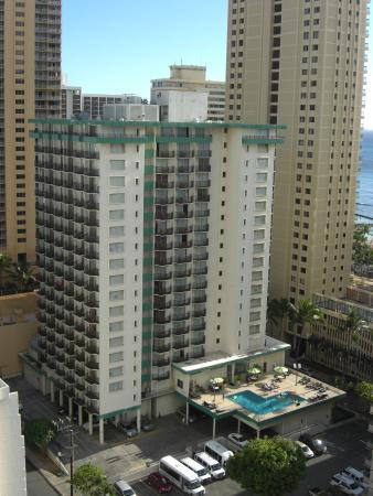 Waikiki Resort: ホテル全景