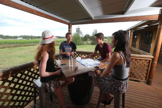 Nulkaba, Australia: Hostel verandah