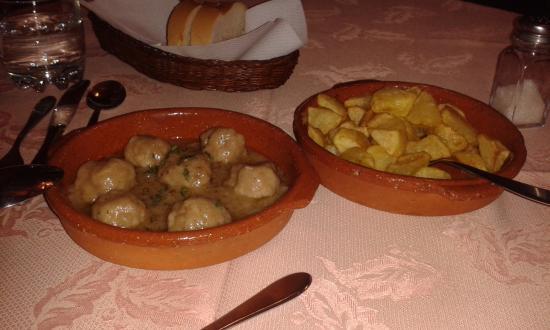 Sartajada, Ισπανία: Cena