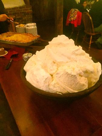 West Brookfield, Μασαχουσέτη: Mountain of whipped cream
