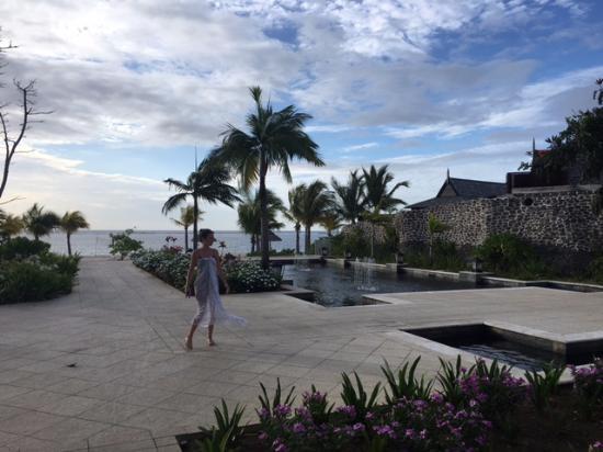 The St. Regis Mauritius Resort : Hotel territory