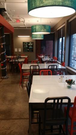 Hostelling International - Boston: Kitchen at Level 2