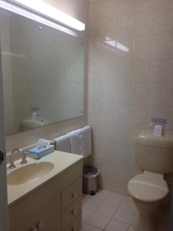 Barossa Weintal Hotel / Motel : Standard bathroom