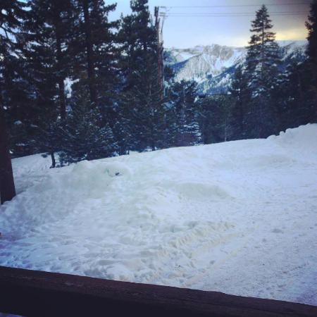 Mountainback at Mammoth: View from our lounge room