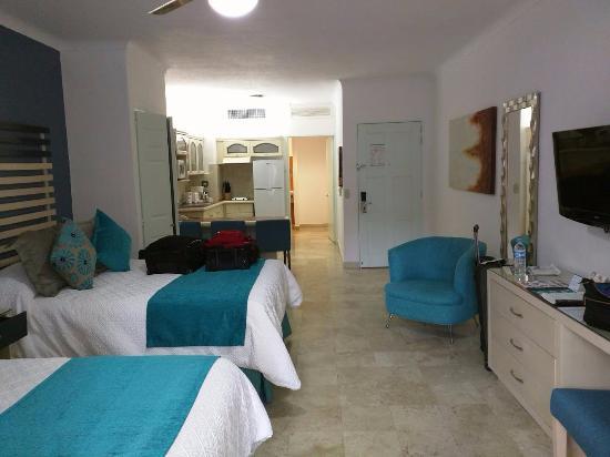 Villa del Palmar Beach Resort & Spa: room from the balcony