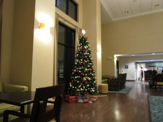 Hampton Inn & Suites Baton Rouge/Port Allen : Lobby