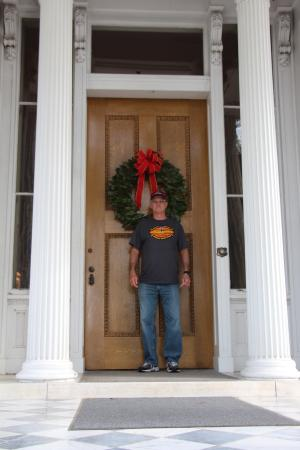 Natchez, MS: Large Front Door!