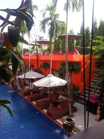 Golden Temple Hotel: View to new rooms & rooftop lounge area