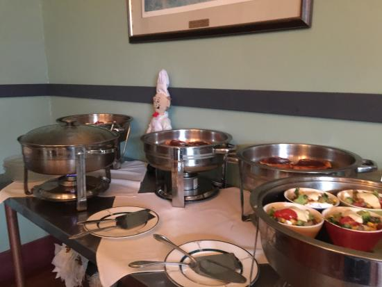 Frog's Leap Inn: Small sampling of breakfast