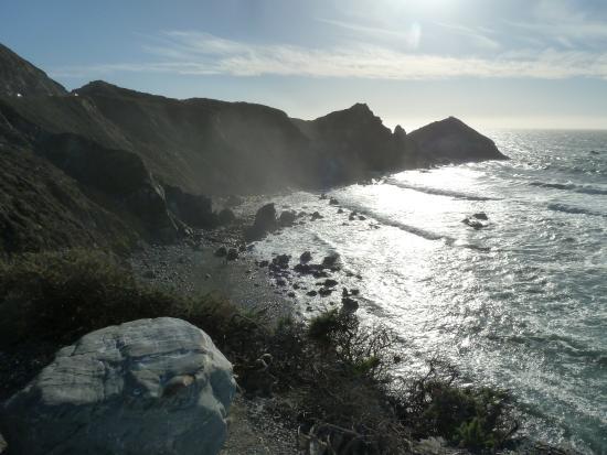 Gurun California, CA: Teilweise am Pazifik entlang