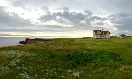 Iles de la Madeleine, Canada: Maison des Péladeau-Snyder