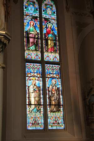 Natchez, MS: Stained Glass windows