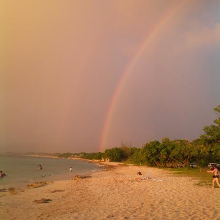 Frederiksted, St. Croix: pot of gold at the pier