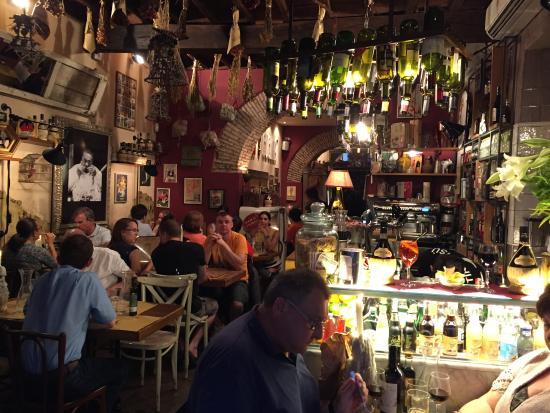 Inside dining room picture of cantina e cucina rome tripadvisor - Cucina e cantina ...