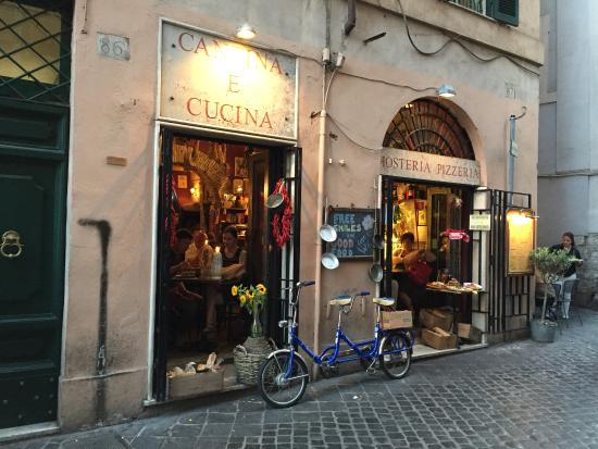 Storefront foto di cantina e cucina roma tripadvisor - Cucina e cantina ...
